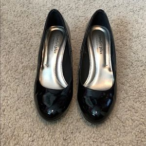 Comfortplus Black Heels